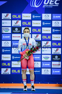 SHMELEVA Daria: UEC Track Cycling European Championships 2020 – Plovdiv