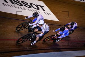 HINZE Emma, KANKOVSKA Sara, LEE Hyejin, LEE Hoi Yan Jessica: UCI Track Cycling World Cup 2019 – Glasgow