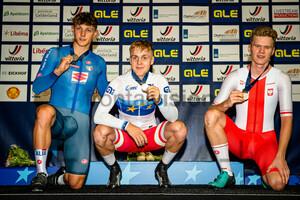 URSELLA Lorenzo, MATHIESEN Phillip, LEWANDOWSKI Jakub: UEC Track Cycling European Championships (U23-U19) – Apeldoorn 2021