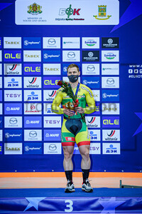LENDEL Vasilijus: UEC Track Cycling European Championships 2020 – Plovdiv