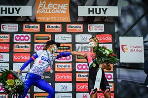 LUDWIG Cecilie Uttrup, VOLLERING Demi: Flèche Wallonne 2020