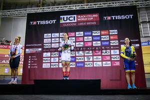 HINZE Emma, LEE Wai Sze, STARIKOVA Olena: UCI Track Cycling World Cup 2019 – Glasgow