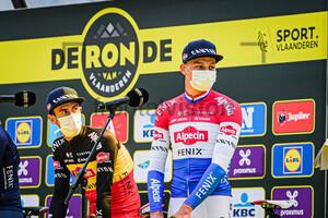 DE BONDT Dries, VAN DER POEL Mathieu: Ronde Van Vlaanderen 2020