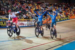CONSONNI Chiara, FIDANZA Martina: UEC Track Cycling European Championships (U23-U19) – Apeldoorn 2021