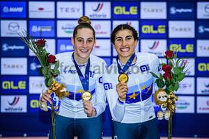 GUAZZINI Vittoria, BALSAMO Elisa: UEC Track Cycling European Championships 2020 – Plovdiv