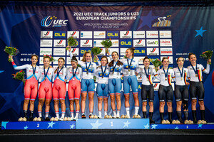 RUSSIA, GREAT BRITAIN, GERMANY: UEC Track Cycling European Championships (U23-U19) – Apeldoorn 2021