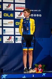 YAROSHENKO Viktoriia: UEC Track Cycling European Championships (U23-U19) – Apeldoorn 2021