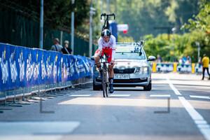 MACIEJUK Filip: UEC Road Cycling European Championships - Trento 2021