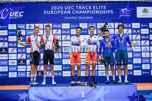 OLIVEIRA Ivo, OLIVEIRA Rui, TORRES BARCELO Albert, MORA VEDRI Sebastian, LAMON Francesco, MORO Stefano: UEC Track Cycling European Championships 2020 – Plovdiv