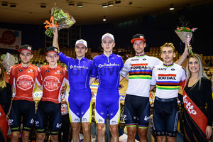 VAN DE SANDE Tosh, DE BUYST Jasper, DE KETELE Kenny, GHYS Robbe, KLUGE Roger, REINHARDT Theo:  Lotto Z6s daagse Vlaanderen-Gent 2019
