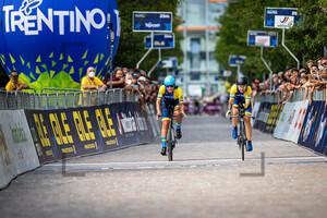 SHEKEL Olga, SOLOVEI Ganna, KONONENKO Valeriya: UEC Road Cycling European Championships - Trento 2021