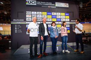 LEHMANN Jens - ROTHENBURGER Christa - WELTE Miriam - MIGELS Karsten: UCI Track Cycling World Championships 2020