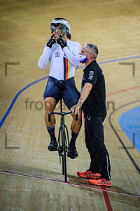 LEVY Maximilian, POKORNY Eyk: UEC Track Cycling European Championships 2020 – Plovdiv