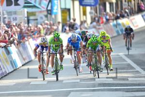 Peter Sagan, Oscar Gatto: VDK - Driedaagse Van De Panne - Koksijde 2014