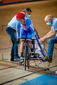 POULOVA Michaela: UEC Track Cycling European Championships (U23-U19) – Apeldoorn 2021