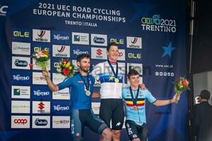 GANNA Filippo, KÜNG Stefan, EVENEPOEL Remco: UEC Road Cycling European Championships - Trento 2021