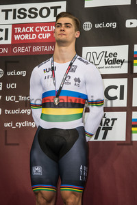 GLAETZER Matthew: UCI Track Cycling World Cup 2018 – London