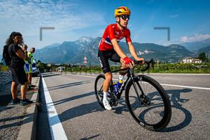 JOHANNESSEN Tobias Halland: UEC Road Cycling European Championships - Trento 2021