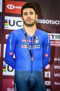 LAMON Francesco: UCI Track Cycling World Cup 2019 – Glasgow