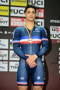 HELAL Rayan: UCI Track Cycling World Cup 2018 – Berlin