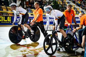 FRIEDRICH Lea Sophie, HINZE Emma: UEC Track Cycling European Championships 2019 – Apeldoorn