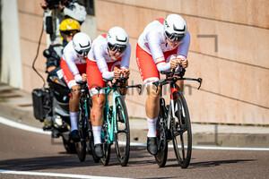 LORKOWSKA Patrycja, PASTUSZEK Paulina, PRZEZAK Dorota: UEC Road Cycling European Championships - Trento 2021