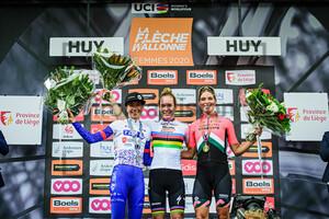 LUDWIG Cecilie Uttrup, VAN DER BREGGEN Anna, VOLLERING Demi: Flèche Wallonne 2020