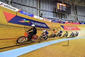 Keirin Race: UEC European Championships 2018 – Track Cycling