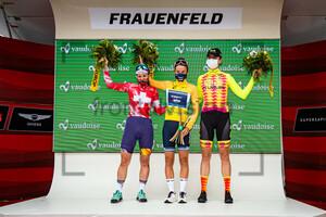 CHABBEY Elise, DEIGNAN Elizabeth, REUSSER Marlen: Tour de Suisse - Women 2021 - 2. Stage