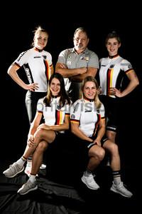 FRIEDRICH Lea Sophie, WELTE Miriam, UIBEL Detlef, HINZE Emma, GRABOSCH Pauline: UCI Track Cycling World Championships 2019