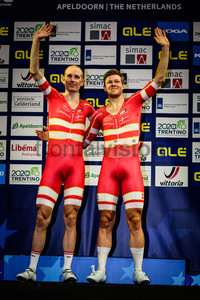 MORKOV Michael, HANSEN Lasse: UEC Track Cycling European Championships 2019 – Apeldoorn