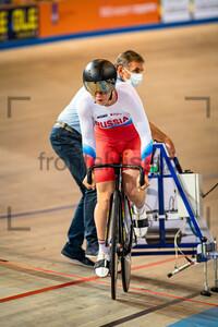 TYSHCHENKO Yana: UEC Track Cycling European Championships (U23-U19) – Apeldoorn 2021