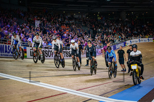 HINZE Emma, LEE Hyejin, MORTON Stephanie, LEE Wai Sze, ANDREWS Ellesse, FRIEDRICH Lea Sophie: UCI Track Cycling World Championships 2020