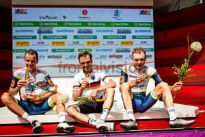 KOCH Jonas, SCHACHMANN Maximilian, ZIMMERMANN Georg: National Championships-Road Cycling 2021 - RR Men