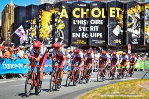 Team Katusha Alpecin: Tour de France 2018 - Stage 3