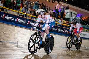 LYSENKO Alina, EDMUNDS Rhian: UEC Track Cycling European Championships (U23-U19) – Apeldoorn 2021