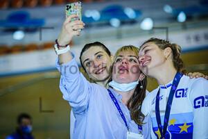 SHMELEVA Daria, VOINOVA Anastasiia: UEC Track Cycling European Championships 2020 – Plovdiv
