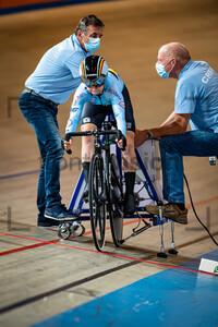 WITTEVRONGEL Lani: UEC Track Cycling European Championships (U23-U19) – Apeldoorn 2021