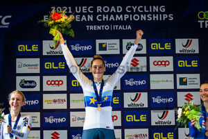 GUAZZINI Vittoria: UEC Road Cycling European Championships - Trento 2021