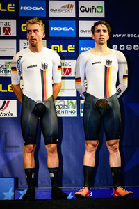 REINHARDT Theo, BEYER Maximilian: UEC Track Cycling European Championships 2019 – Apeldoorn